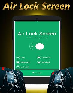 Wave Air Lock Screen / Unlock - náhled