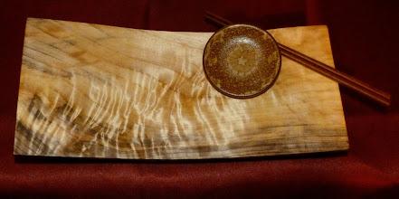 Photo: figured maple