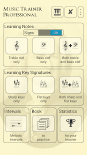 Music Trainer Professional PRO screenshot