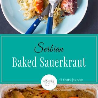 Serbian Baked Sauerkraut Recipe