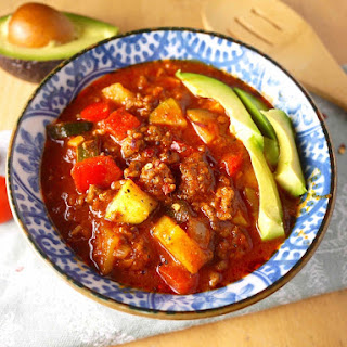 Quick and Tasty Paleo Chili (gf)