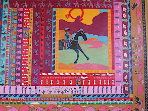 Photo: Silver City NM horse mural