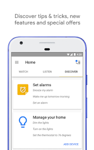 Google Home – Miniaturansicht des Screenshots