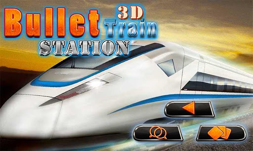 Bullet Train Station 3D