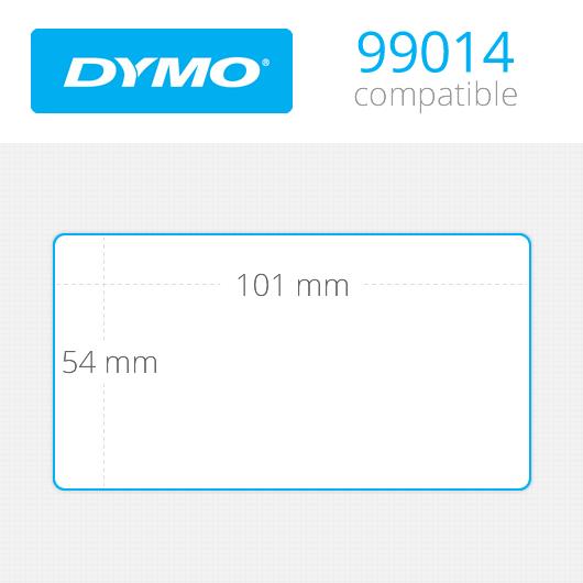 Dymo Labels 54x101mm Κωδ: 99014 Ρολό 250 ετικέτες