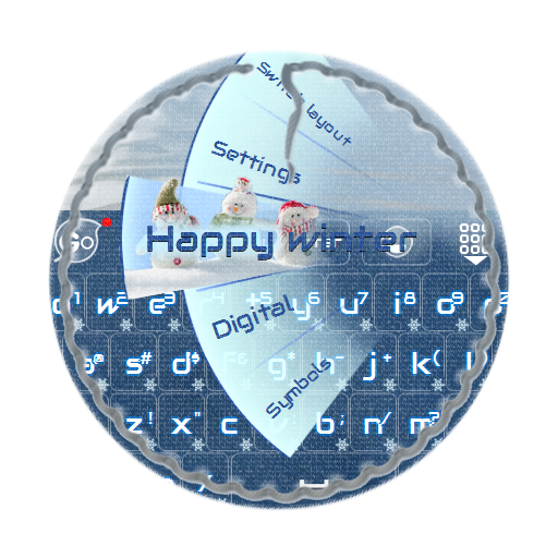 冬天快樂 GO Keyboard LOGO-APP點子