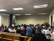 FILE IMAGE: Samuel Sibeko,28, appeared briefly in Soweto's Protea magistrate's court on a charge of murder and defeating the ends of justice.