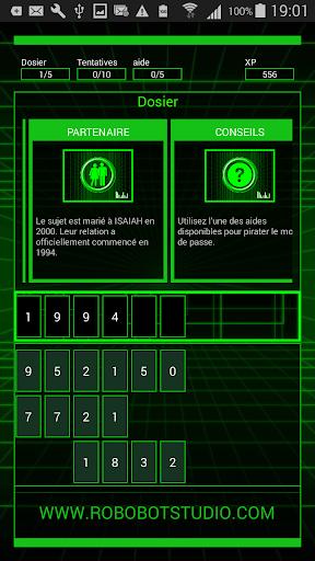 Code Triche HackBot Jeux de Hacker APK MOD (Astuce) screenshots 4