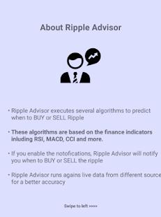 Ripple Advisor - náhled