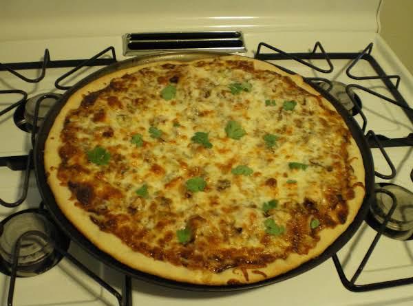 Bbq Chicken - Bacon - And Gorgonzola Pizza Recipe