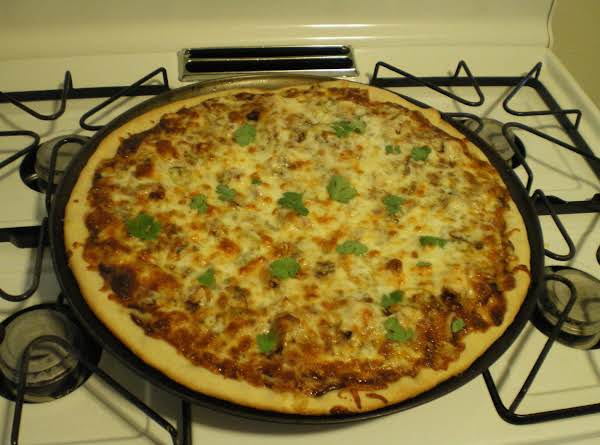 Bbq Chicken - Bacon - And Gorgonzola Pizza