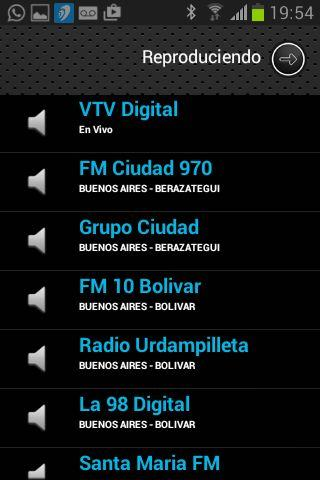 RadiosNet Argentina- screenshot