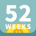 52週存錢法 輕鬆、無痛存出夢想 小豬公撲滿存錢術 icon