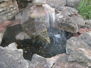 Photo: Upper pool with water fall
