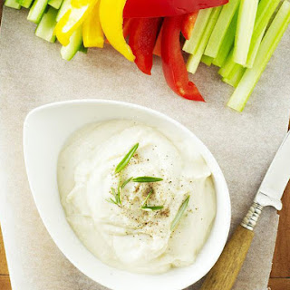 Garlic, Rosemary and White Bean Dip