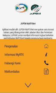 JUPEM MyRTKNet - náhled