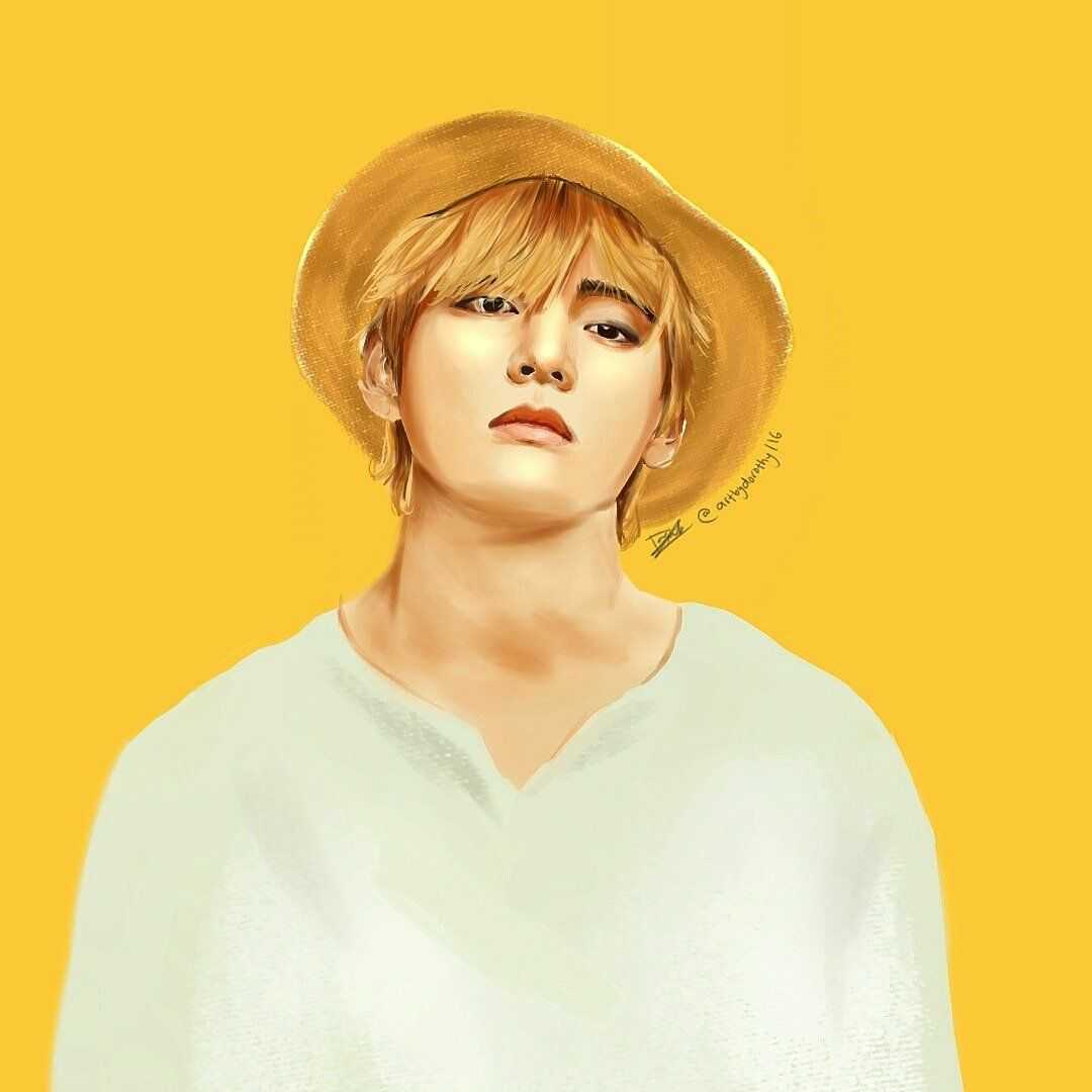 bts v fan art 1