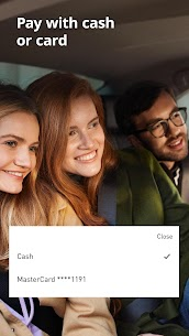 Uber BY — better than taxi. App for order cabs 3.86.2 [MOD APK] Latest 3