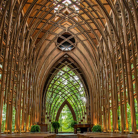COOPER CHAPEL by Dana Johnson - Buildings & Architecture Places of Worship ( glass chapel, church, chapel, worship, building, architecture )