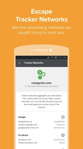 Screenshot 4 for DuckDuckGo's Android app'