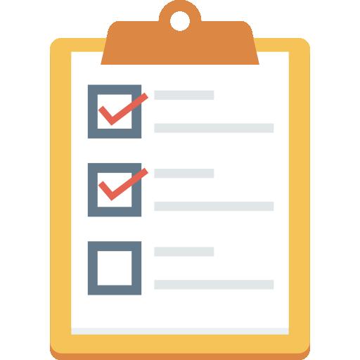 icono checklist