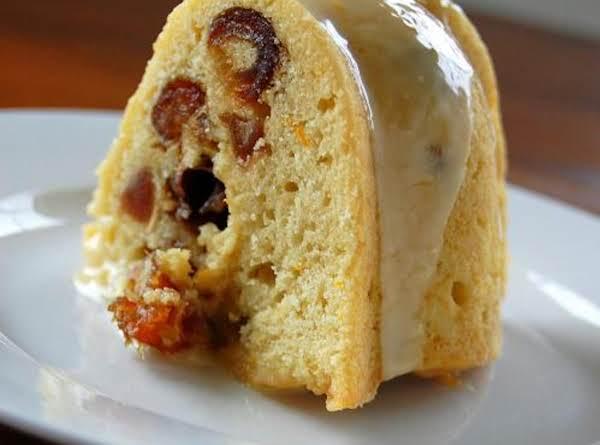 Orange Walnut Cake image