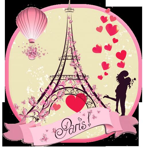 Paris Eiffel Tower Love Theme