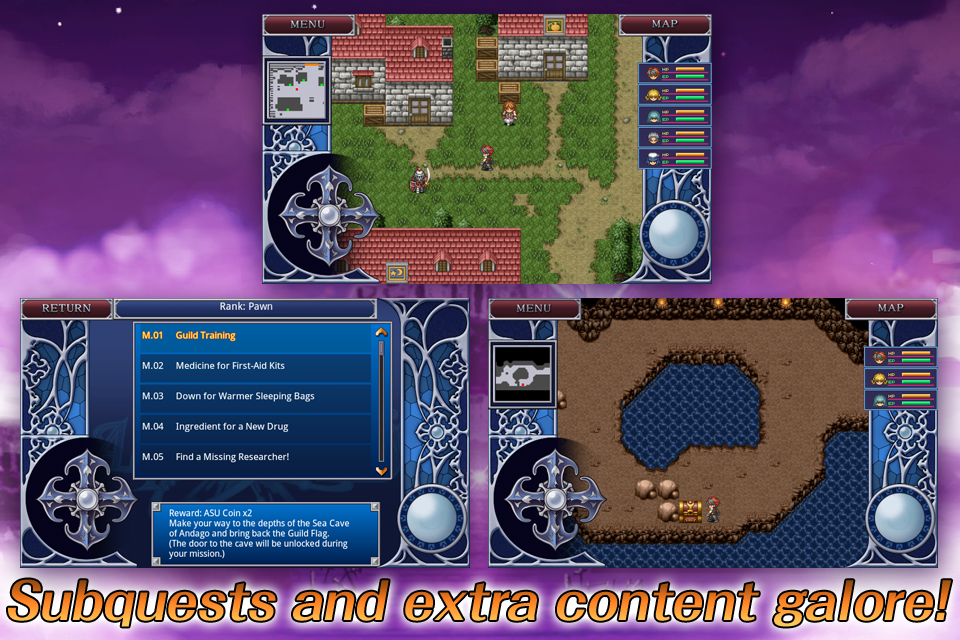 RPG Alphadia2- screenshot