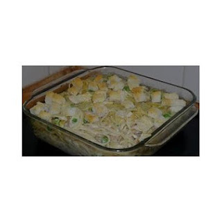 Tuna Mornay Pasta Bake