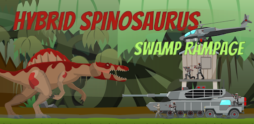 Dominate over the humans as the Hybrid Spinosaurus