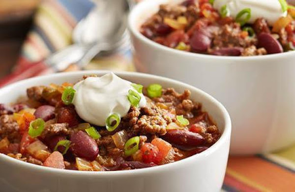 Touchdown Chili Recipe