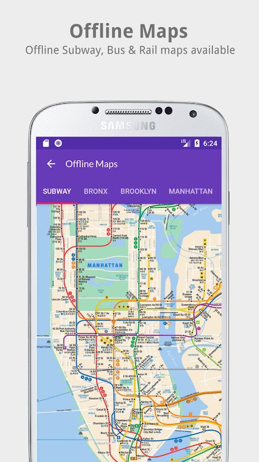 Nyc transit mta subway rail bus tracker android apps on nyc transit mta subway rail bus tracker screenshot sciox Images