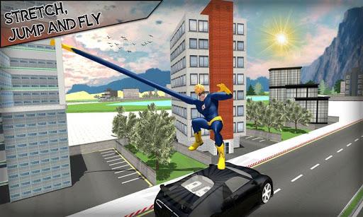 corde élastique héros: super héros jeux de combat  captures d'écran 2
