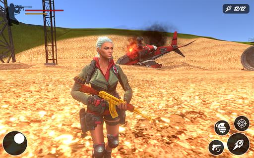 Fire Battle Squad Survival: Free Fire strike game 1.0 screenshots 2
