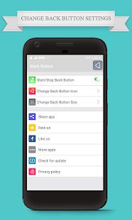 Back Button for Android Assistive Touch - náhled