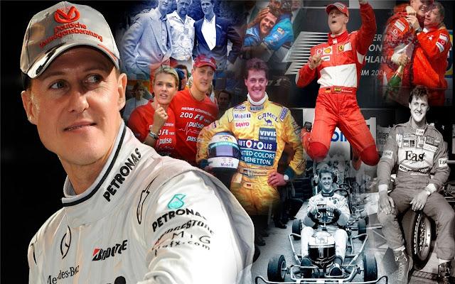 Michael Schumacher Themes & New Tab