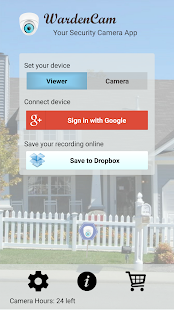 Home Security Camera WardenCam- screenshot thumbnail