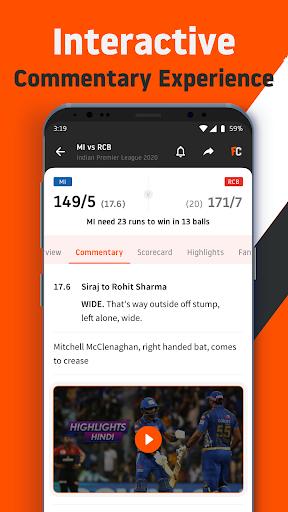 FanCode: Cricket Live Stream & Sports Live Scores 3.28.0 screenshots 5