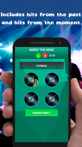 Guess the song - music games free  Wallpaper 3