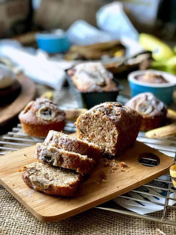 Banana, Pecan And Coconut Loaf Recipe