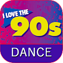 90s Dance Music icon