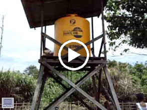 Video: Filmpje: watersysteem in Arapi loopt