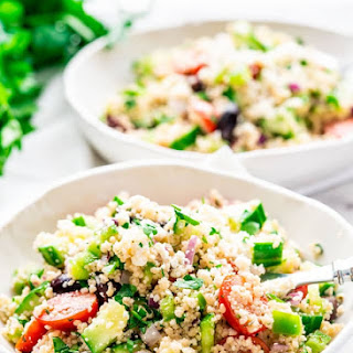 Mediterranean Couscous Salad Recipe