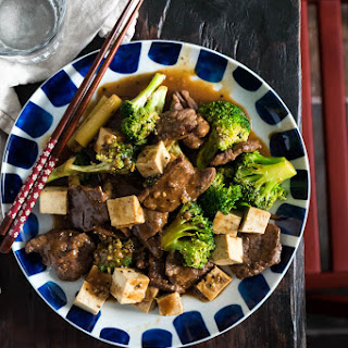 Chinese Beef and Broccoli with Tofu (One Pan Take-Out)