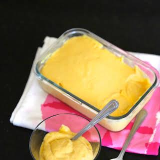 3 ingredient Mango Mousse.