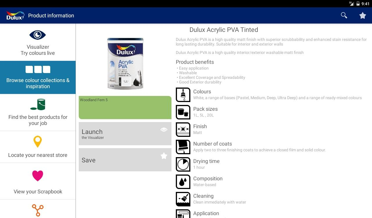 Available in a range of different colour designs instant downloadable - Dulux Visualizer Za Screenshot