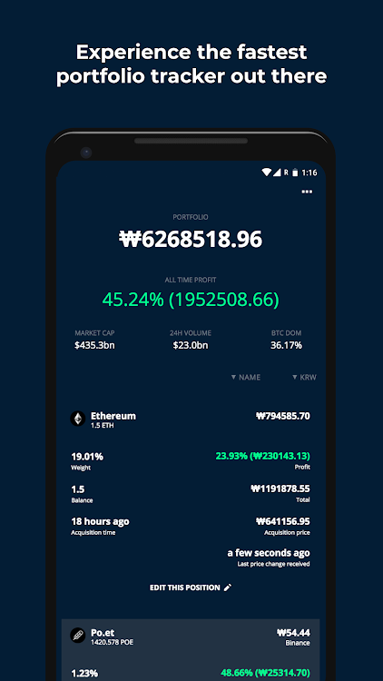 CoinView - Crypto Portfolio Tracker – (Android Apps) — AppAgg