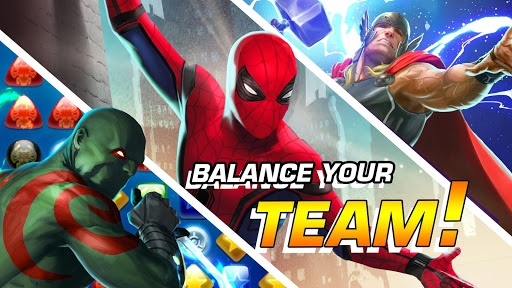MARVEL Puzzle Quest: Join the Super Hero Battle! 204.531444 screenshots 18