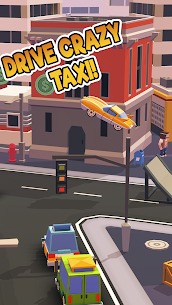 Taxi Run – Crazy Driver MOD (Unlimited Money/Cars/Skins) 1