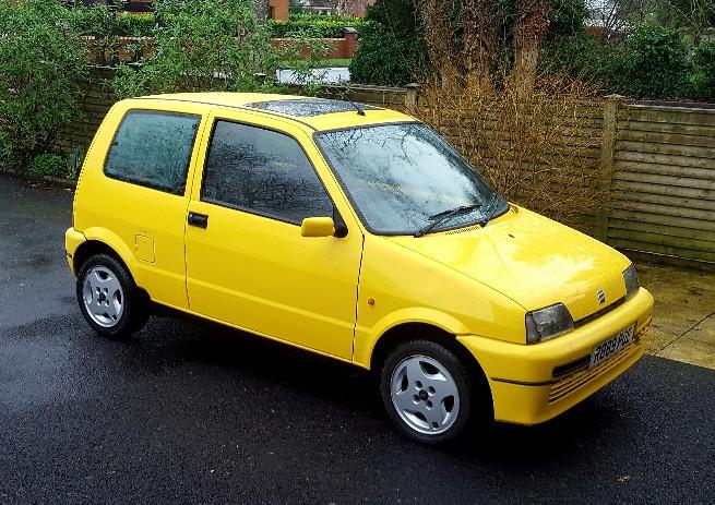 Fiat Cinquecento Hire Belfast